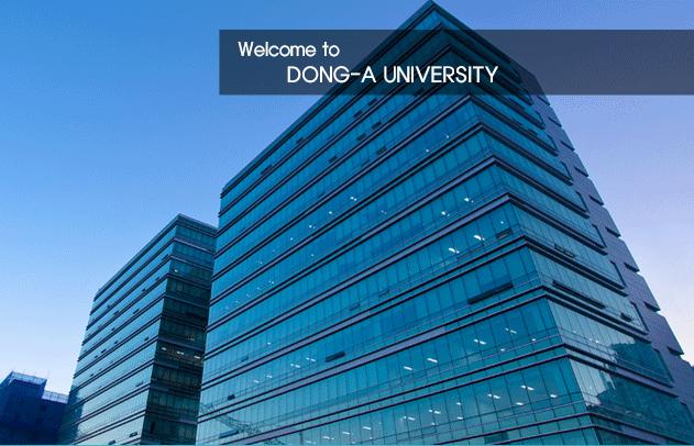 Tìm hiểu học bổng trường đại học Dong A Hàn Quốc