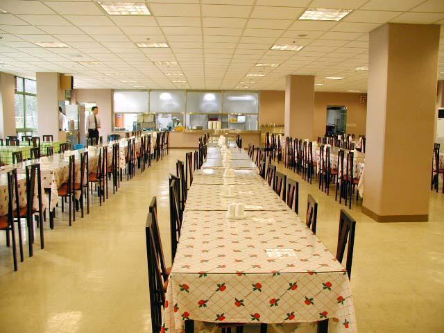 nhà ăn sinh viên đại học donga