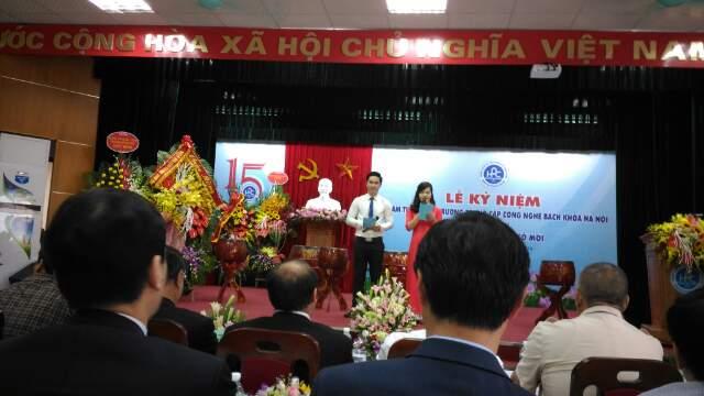buổi lễ kỷ niệm 15 năm thành lập trường HPC
