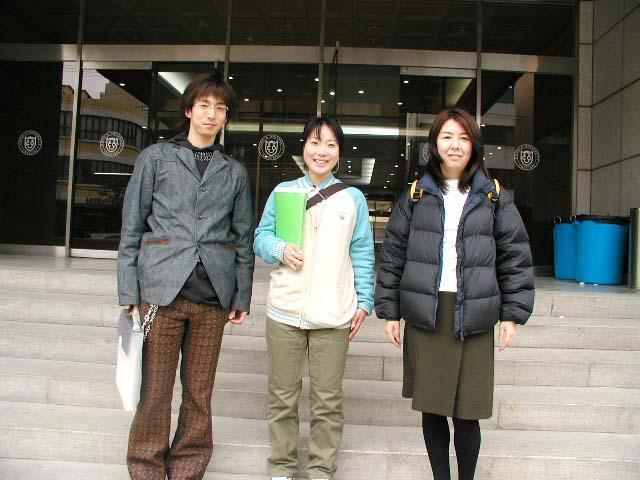 Phỏng vấn học sinh của trung tâm tiếng Hàn Đại học DongA