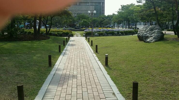 Khuôn viên xinh đẹp của trường đại học Soongsil