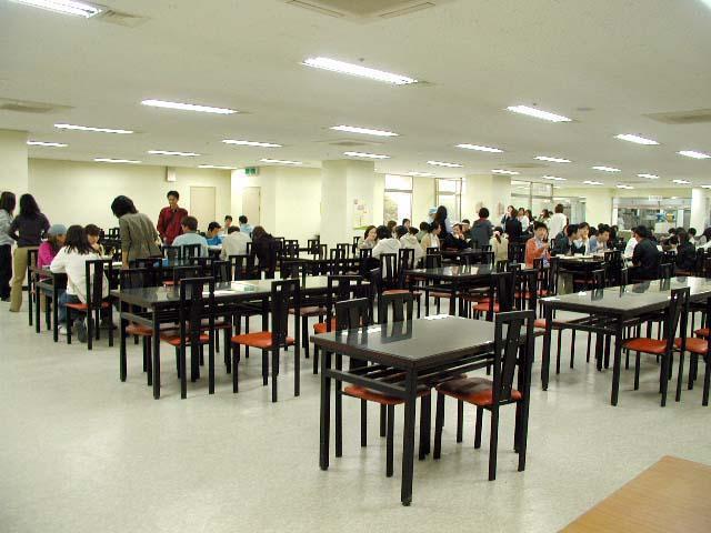 nhà ăn đại học donga