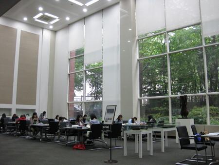 phòng tự học của Đại học nữ Sookmyung
