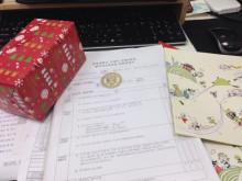 Phần quà trường Chungang tặng