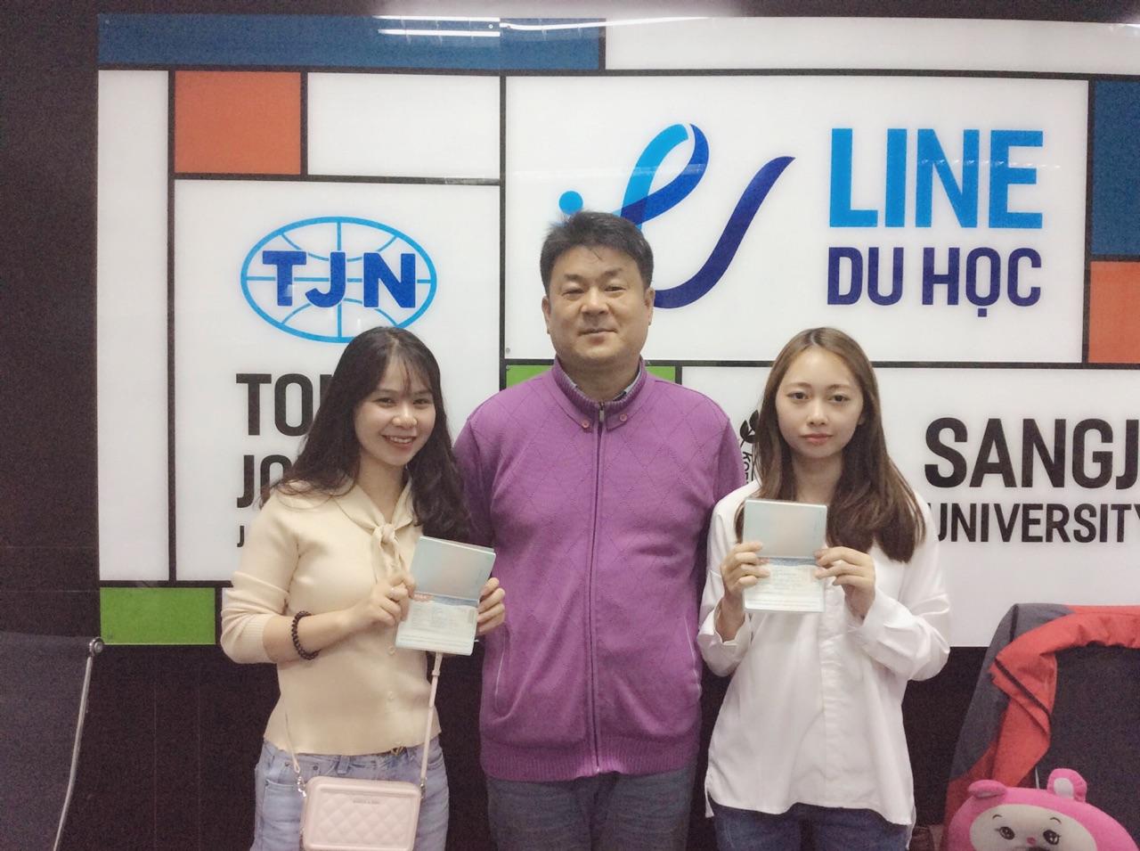 Du học sinh Line nhận visa du học đại học Dongguk kỳ tháng 3