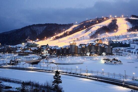 Gangwondo – nơi dành cho những người yêu thích trượt tuyết