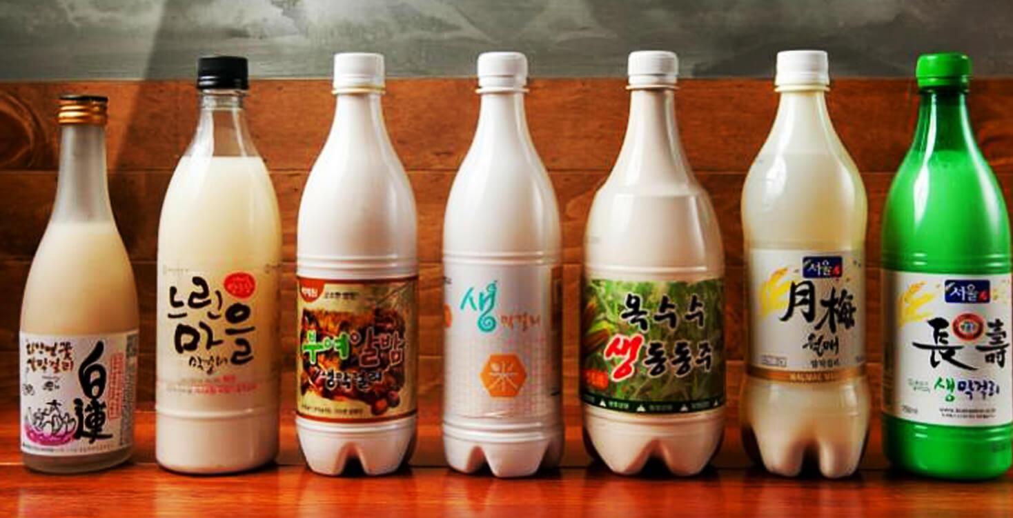 Những đồ uống đều được mọi người Hàn yêu thích