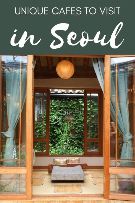 Dạo quanh thành phố Seoul khám phá nét độc đáo của các quán café