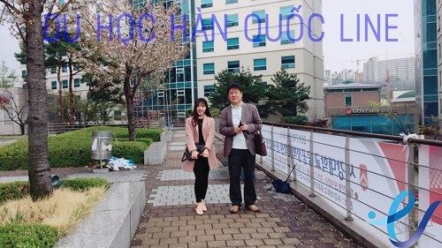 Đến thăm đại học Sogang Hàn Quốc cùng thầy Kim ngày 17 - 4 - 2017