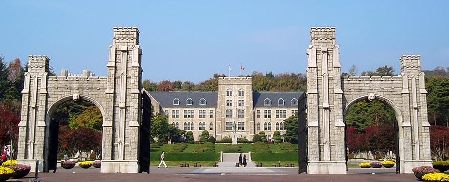 Những loại học bổng chủ yếu của trường đại học Korea
