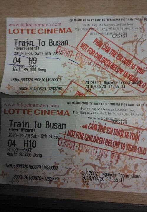 Chuyến tàu sinh tử (Train to Busan)- Bộ phim đáng xem 2017