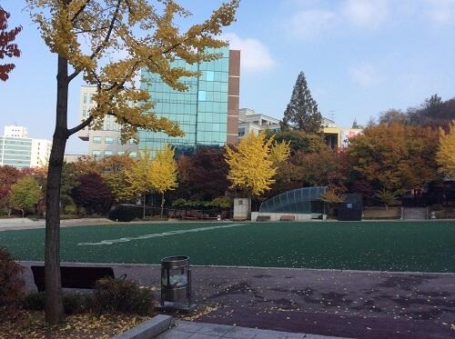 Toàn cảnh ký túc xá đại học Sogang của Hàn Quốc