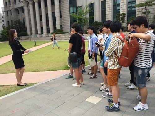 Đại học Ngoại ngữ Hàn Quốc hoạt động với tinh thần sự thật hòa bình và sáng tạo