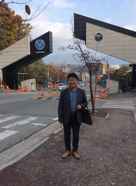 Chuyến thăm của giám đốc công ty Line tại Đại học Sangji