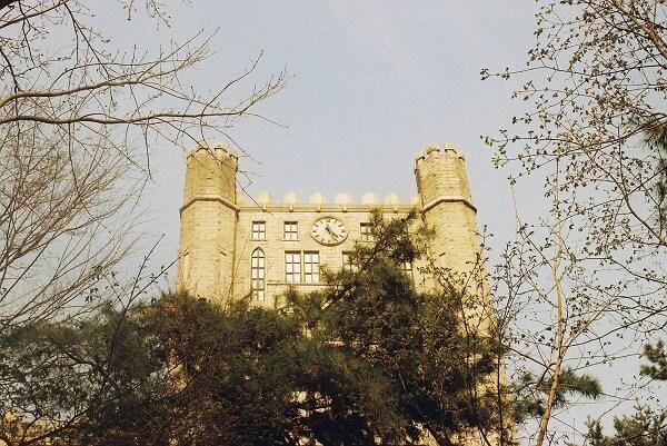 Trường đại học Kyung Hee nhìn từ trên cao