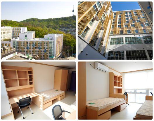 Giới thiệu về ký túc xá trường đại học Dongguk
