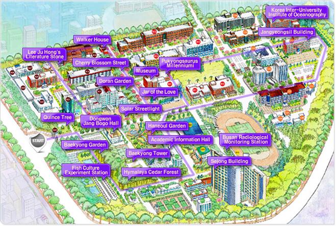 Thăm quan trường đại học Pukyong Hàn Quốc