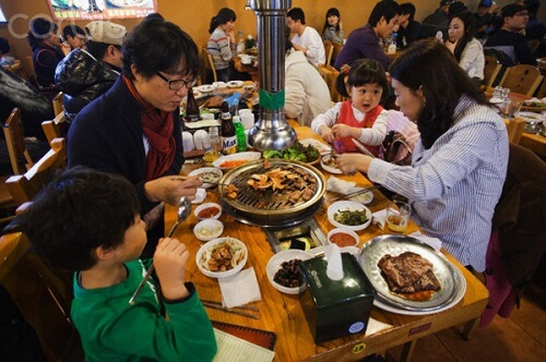 Văn hóa ăn uống của người Hàn Quốc mà du học sinh nên lưu ý