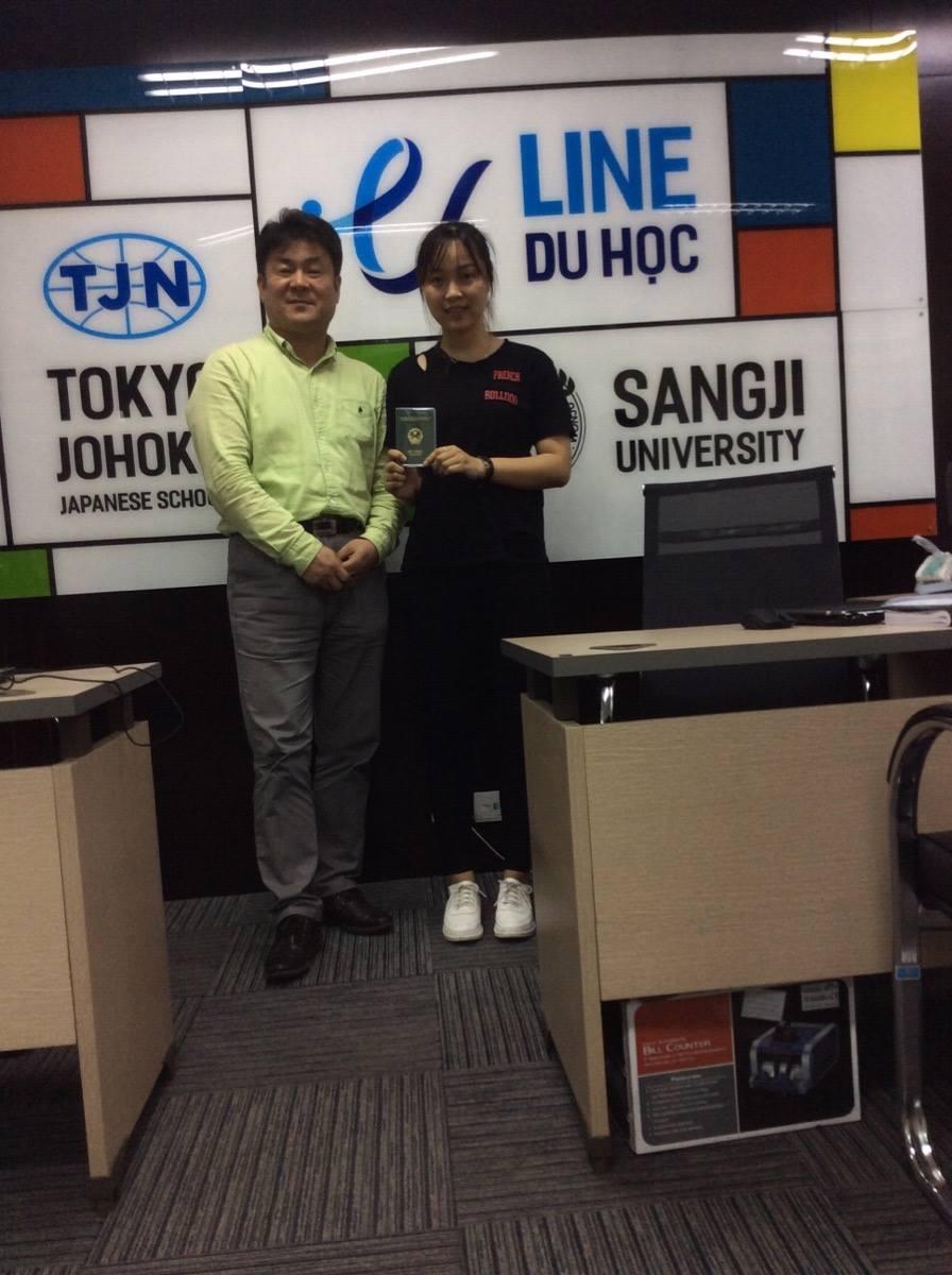 Chúc mừng bạn Cao Vân Anh đỗ Visa thẳng Đại học Sogang