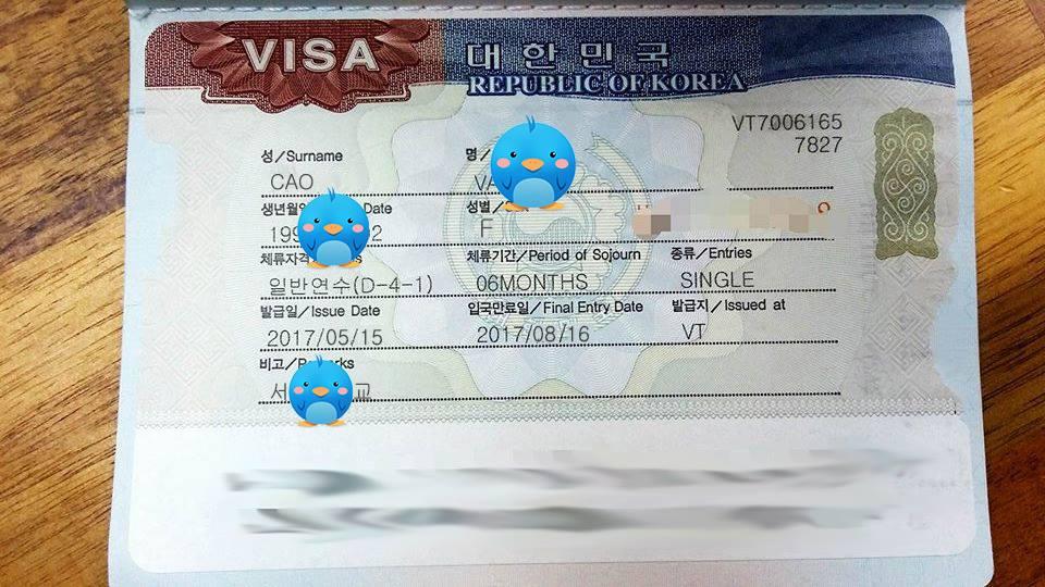 Visa thẳng du học Hàn Quốc trường đại học Sogang