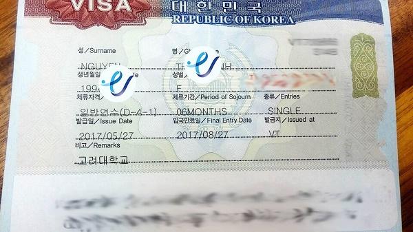 Học sinh của Line lại nhận được Visa thẳng trường đại học Korea