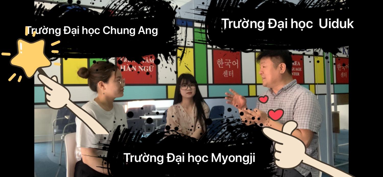 [VIDEO] Combo học 3 trường Đại học Chung Ang, Đại học Uiduk, Đại học Myongji