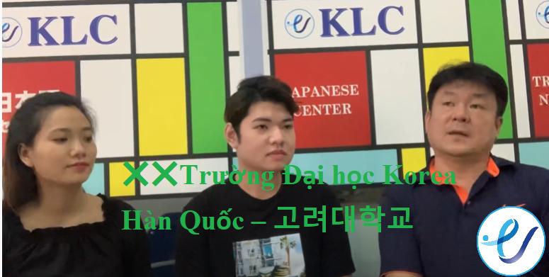 [VIDEO]Bạn biết gì về Trường Đại học Korea Hàn Quốc