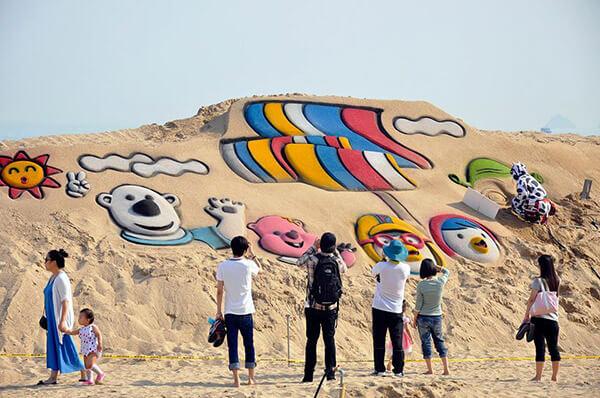 Mùa hè Hàn Quốc điểm thu hút mạnh mẽ khách du lịch