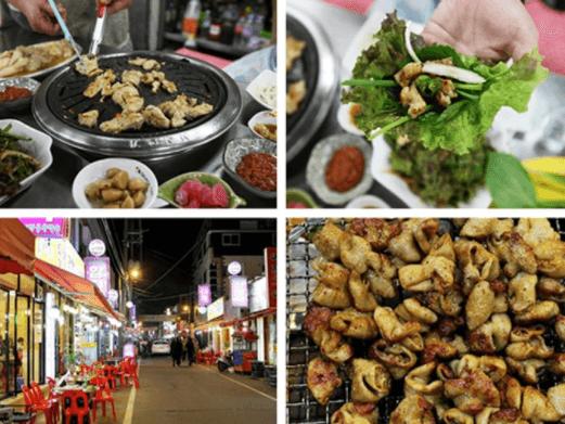 Top những khu phố ẩm thực tại Hàn Quốc ăn quên lối về