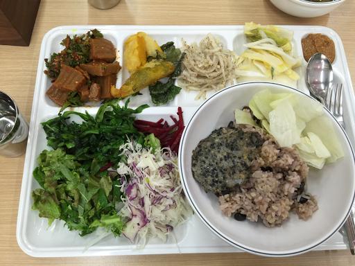buffet chay dai hoc quoc gia seoul