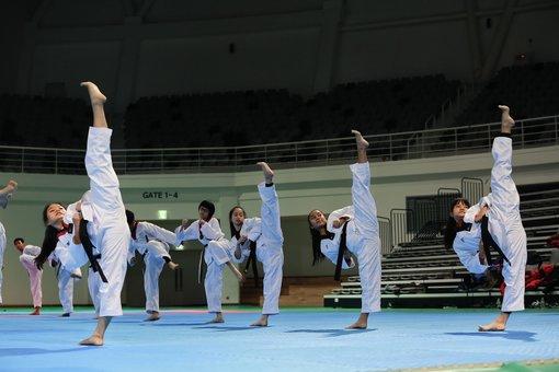 taekwondo trai nghiem van hoa han quoc tai truong dai hoc chungang