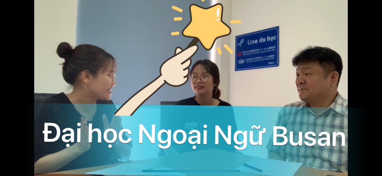 [VIDEO] Đại học Ngoại Ngữ Busan có đông sinh viên Việt Nam không???